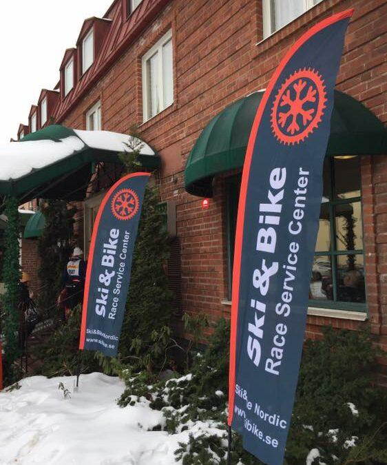 Ski&Bike Nordic lämnar Mora och Tjejvasan för vallaservice i Lindvallen under resten av Vasaloppsveckan