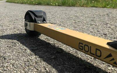 Ski&Bike Nordic blir återförsäljare för värmländsk-norska Gold Skis fina rullskidor och minimalistiska vallaställ