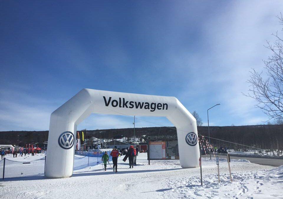 Ski&Bike Nordic på Fjälltopphelgen