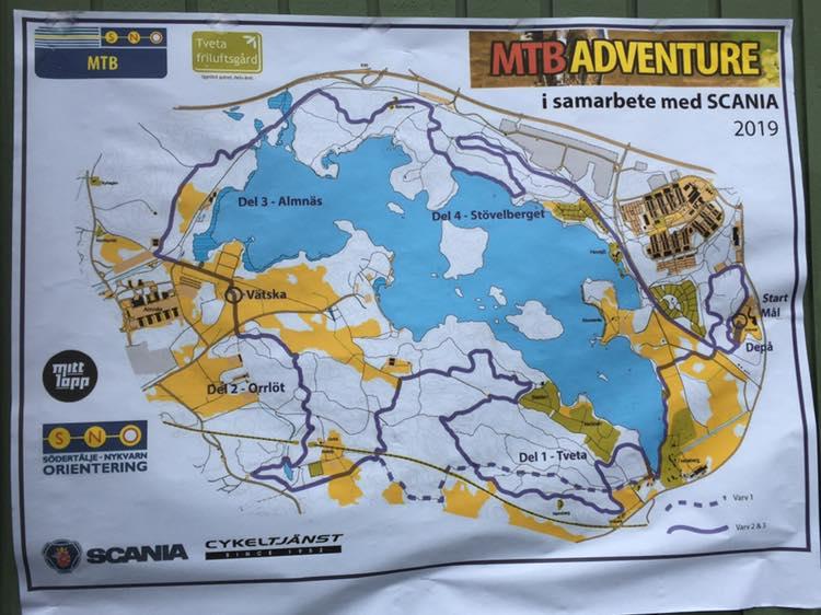 Ski&Bike Nordic på plats för MTB Adventure i Södertälje
