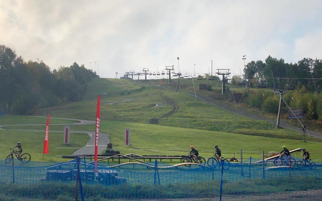 Härligt dagläger med Saltsjöbaden CK MTB i Flottsbro Bike Park
