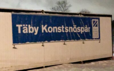 Konstsnöspåren i Stockholm öppnar
