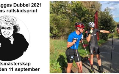 Ski&Bike Nordic på plats vid distriktsmästerskapet (DM) i rullskidsprint för Stockholms Skidförbunds klubbar – Dagges Dubbel lördagen den 11 september