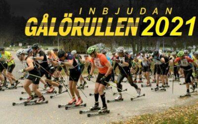 Ski&Bike Nordic på plats vid populära Gålörullen den 10 okt (rullskids-DM för Stockholms Skidförbund)